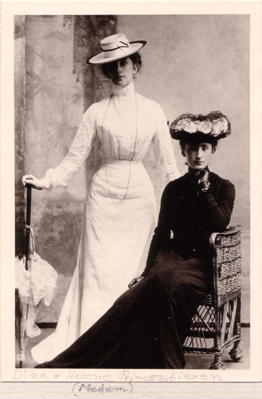 Dina and Helene von Medem