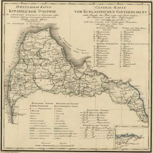 1820 Kurland Guberniya