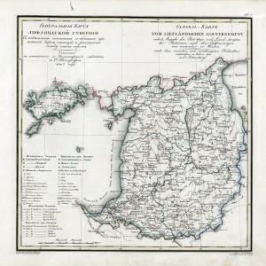 1820 Livonia Guberniya