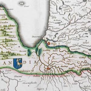 Kurland Karte