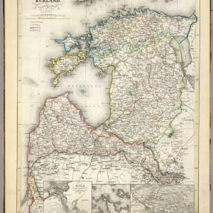 Livland Ehstland und Kurland