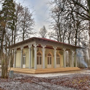 Elley Tea House, Latvia